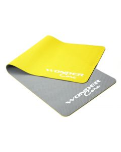 Wonder Core - Yoga Mat TPE - Grijs/Groen