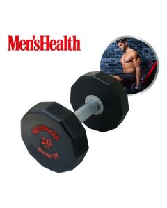 Men's Health - Urethane Dumbbell - 20KG