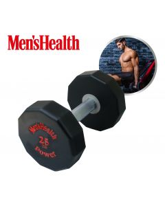 Men's Health - Urethane Dumbbell - 25 KG