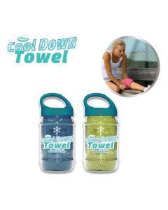 Cool Down Towel - Green + Blue
