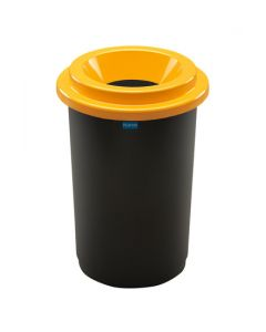 Plafor Eco Prullenbak  50L – Recycling – Geel