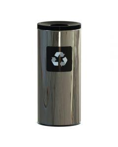 ALDA Eco - Prestige prullenbak 45L – zwart