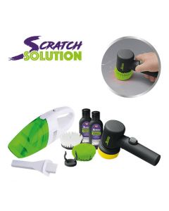 Car Scratch Solution + Turbo Vac autostofzuiger