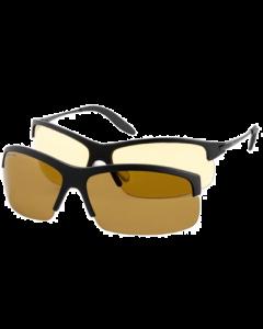 Eagle Eyes - PanoVu Sunglasses incl. Vivitar Verrekijker