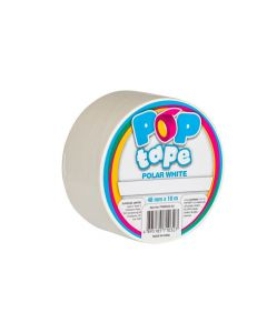 Pop Tape 48mm x 10m - Polar White