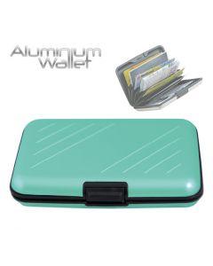 Orange Donkey Aluminium Wallet Turquoise