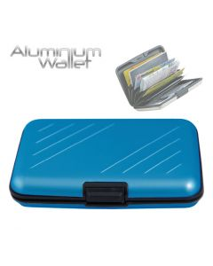 Orange Donkey Aluminium Wallet Steel Blue