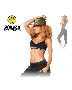 Zumba Never Stop Dancing Bra - Black S