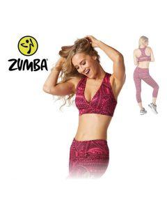 Zumba All Day V Bra - Pink S