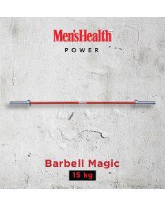 Men's Health Barbell Magic - Red- 15KG