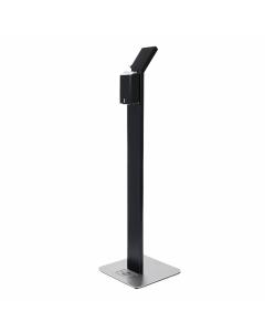 Dispenserpaal - Zwart incl. literfles dispenser