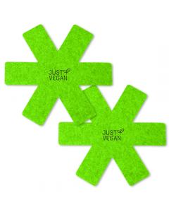 Just Vegan – CeraVegan Eco panbeschermers 2-pack