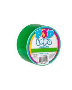 Pop Tape 48mm x 10m - Loud Lime