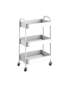 Mesa Living - Opberg Trolley - Wit