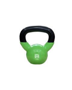 Orange Gym – Vinyl Kettlebell – 4KG