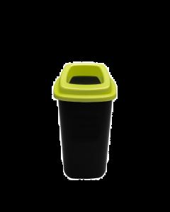 Plafor Prullenbak 45L – Recycling – Groen