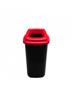Plafor Prullenbak 45L – Recycling – Rood