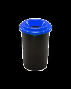 Plafor Eco Prullenbak 50L – Recycling – Blauw