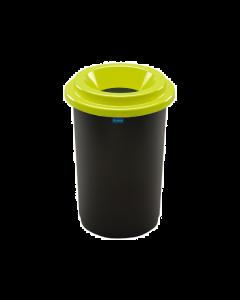 Plafor Eco Prullenbak 50L – Recycling – Groen