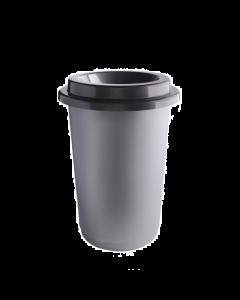 Plafor Eco Prullenbak 50L – Recycling – Grijs