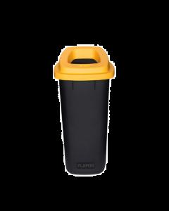 Plafor Prullenbak 90L – Recycling – Geel